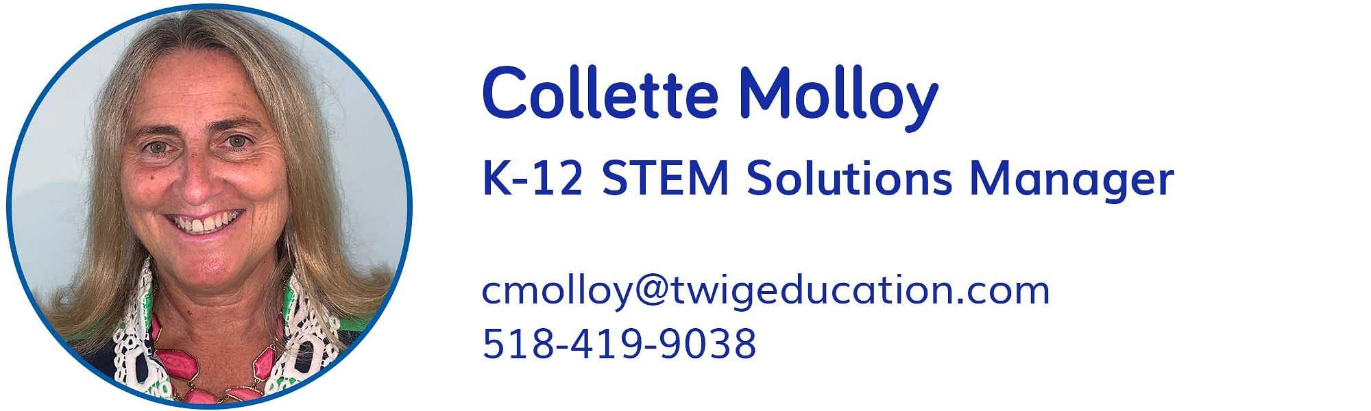 Collette Molloy, cmolloy@twigeducation.com, 518-419-9038